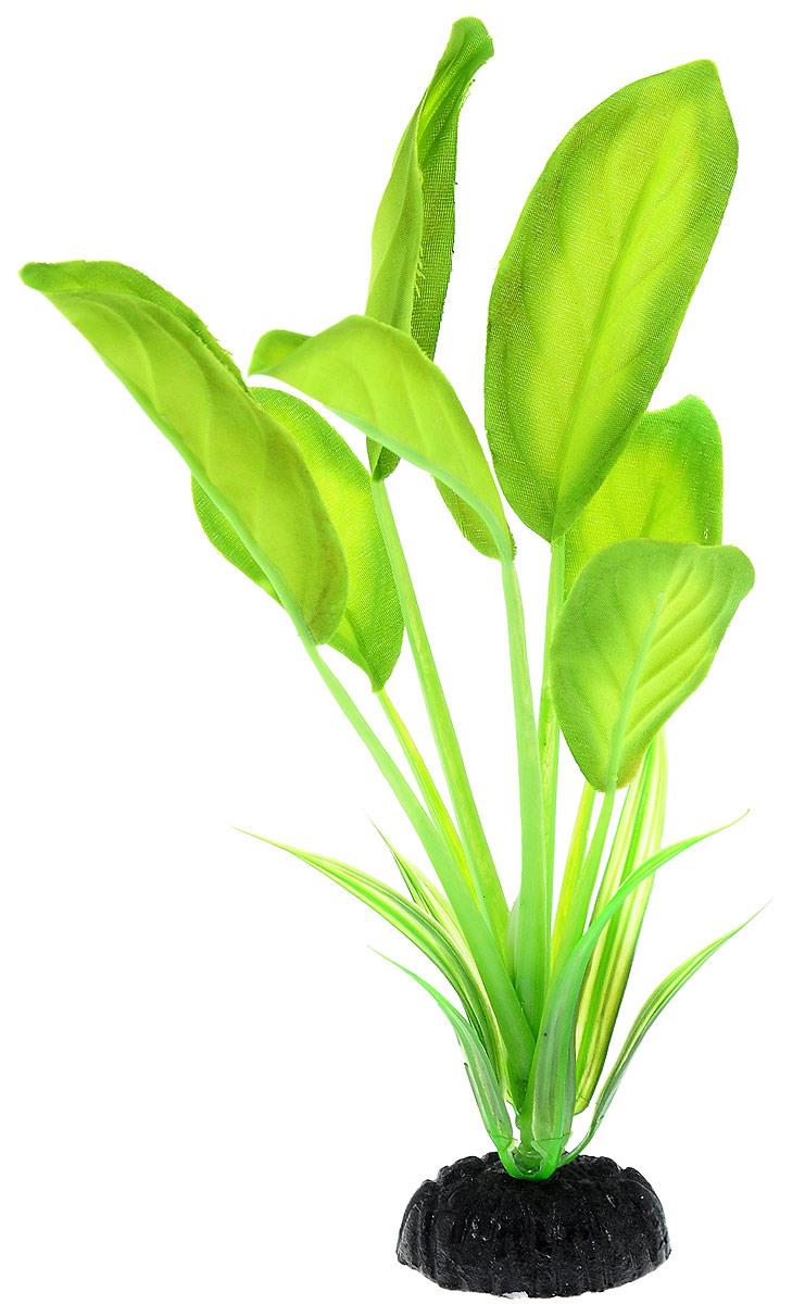 Растение для аквариума Barbus Эхинодорус, шелковое, высота 20 см. Plant 037/20Plant 037/20Растение для аквариума Barbus Эхинодорус, выполненное из высококачественного нетоксичного пластика и шелка, станет прекрасным украшением вашего аквариума. Шелковое растение идеально подходит для дизайна всех видов аквариумов. В воде происходит абсолютная имитация живых растений. Изделие не требует дополнительного ухода и просто в применении. Растение абсолютно безопасно, нейтрально к водному балансу, устойчиво к истиранию краски, подходит как для пресноводного, так и для морского аквариума. Растение для аквариума Barbus Эхинодорус поможет вам смоделировать потрясающий пейзаж на дне вашего аквариума или террариума.