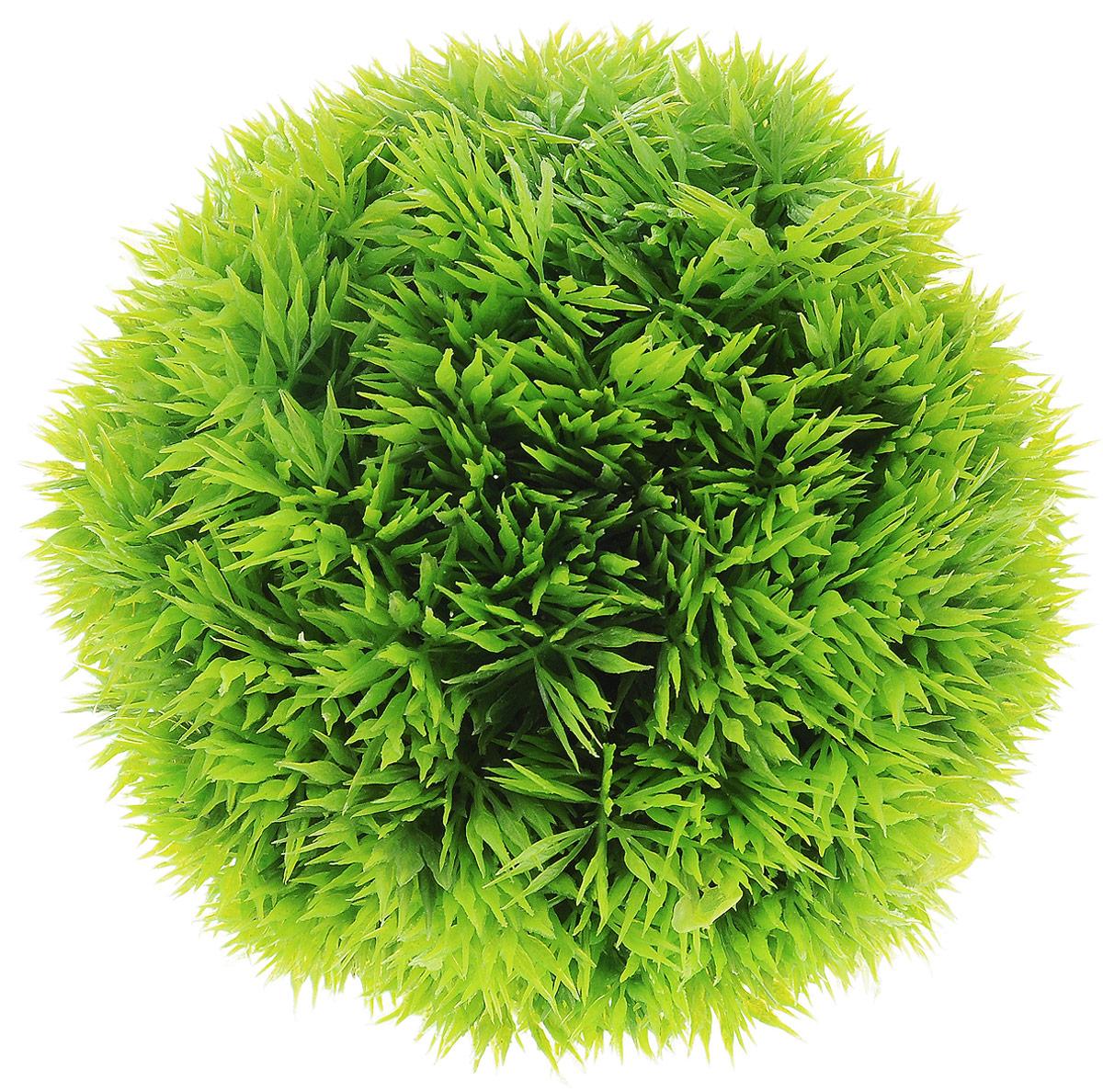 Растение для аквариума Barbus Шар, пластиковое, диаметр 12 смPlant 061Растение для аквариума Barbus Шар, выполненное из высококачественного нетоксичного пластика, является идеальным укрытием для мальков и станет прекрасным украшением вашего аквариума. Пластиковое растение идеально подходит для дизайна всех видов аквариумов. В воде происходит абсолютная имитация живых растений. Изделие не требует дополнительного ухода и просто в применении. Растение абсолютно безопасно, нейтрально к водному балансу, устойчиво к истиранию краски, подходит как для пресноводного, так и для морского аквариума. Растение для аквариума Barbus Шар поможет вам смоделировать потрясающий пейзаж на дне вашего аквариума или террариума.
