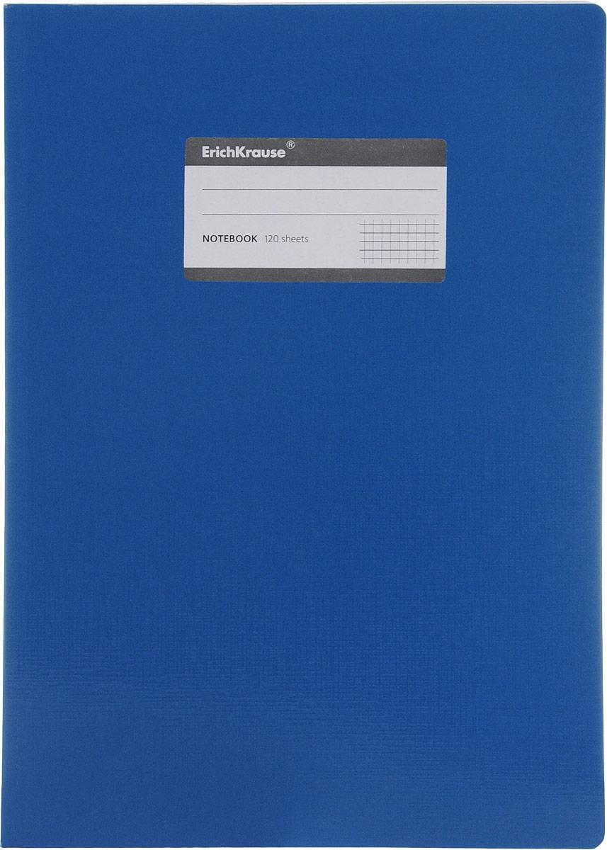 Erich Krause Тетрадь One Color 120 листов в клетку цвет голубой27975_голубойТетрадь One Color с закругленными уголками представляет новую линию универсальных общих тетрадей Erich Krause, предназначенных для студентов, учеников старших классов, преподавателей и для всех тех, кому важно записывать и надежно хранить нужную информацию. Обложка, выполненная из плотного картона, надежно защитит от влаги и поможет сохранить аккуратный внешний вид тетради. Внутренний блок состоит из 120 листов белой бумаги в серую клетку без полей. На обложке расположена наклейка для занесения данных владельца.