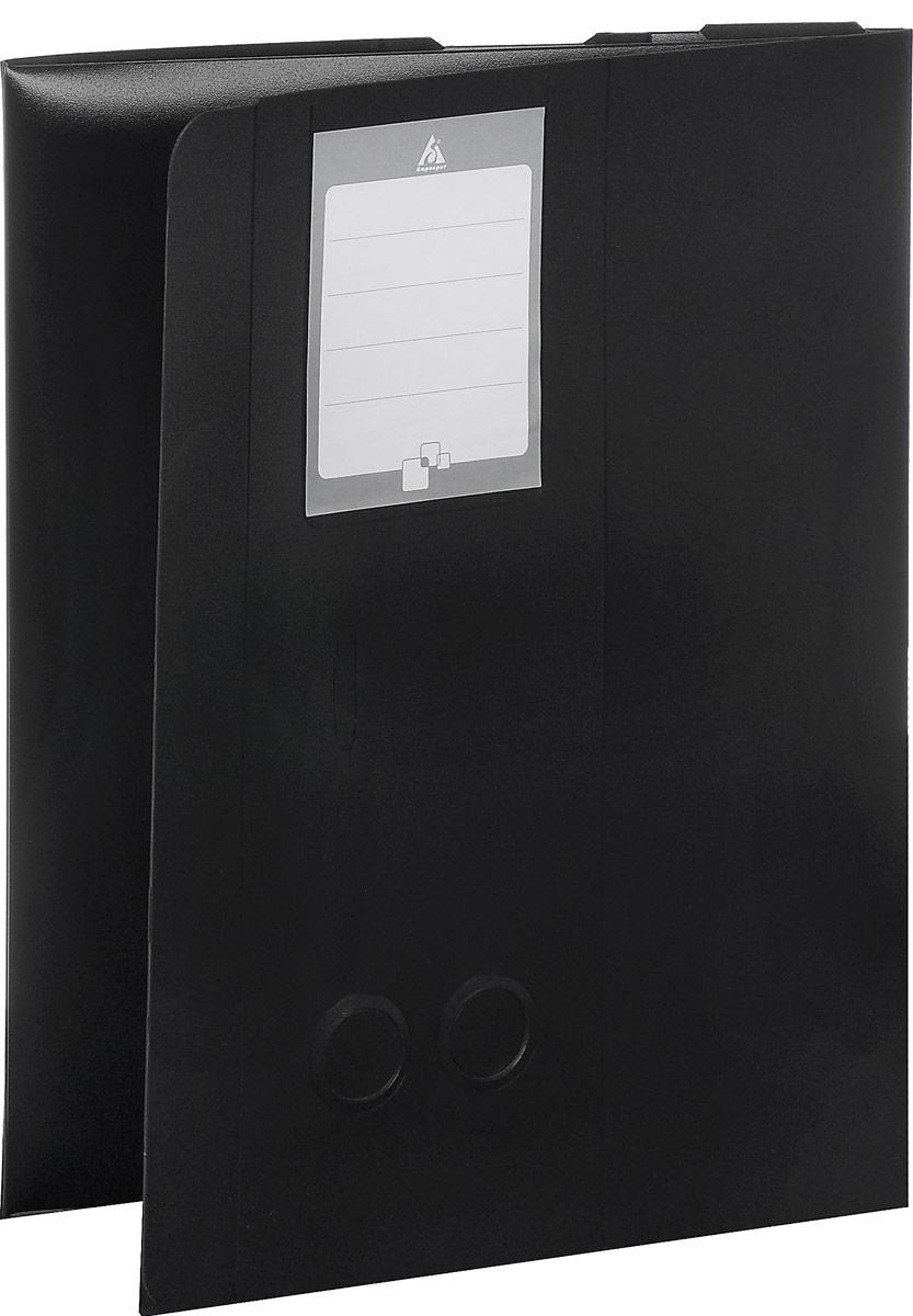 Бюрократ Архивный короб цвет черный 816196816196Архивный короб Бюрократ - это очень удобный и прочный аксессуар для хранения листов и документов формата А4. Короб закрывается на удобную вырубную застежку и имеет два стикера для записи, на абзаце и сбоку. Для удобства извлечения папки на двух торцевых сторонах предусмотрены круглые отверстия. Короб выполнен из прочного пластика толщиной 1 мм. Архивный короб Бюрократ поможет вам красиво и правильно организовать хранение документов.