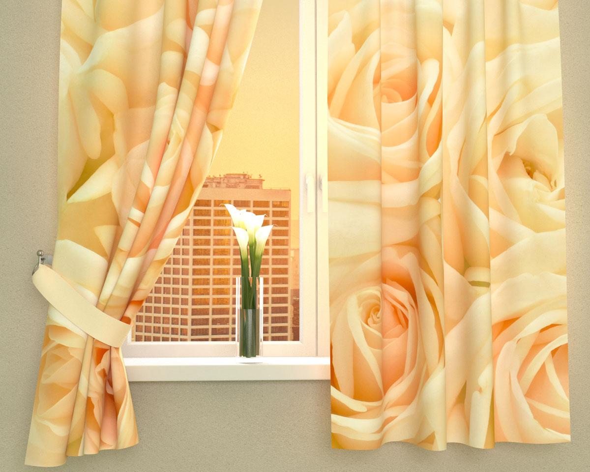 Комплект фотоштор Сирень Нежность, на ленте, высота 160 см01131-ФК-ГБ-002Фотошторы для кухни Сирень Нежность, выполненные из габардина (100% полиэстера), отлично дополнят украшение любого интерьера. Особенностью ткани габардин является небольшая плотность, из-за чего ткань хорошо пропускает воздух и солнечный свет. Ткань хорошо держит форму, не требует специального ухода. Крепление на карниз при помощи шторной ленты на крючки. В комплекте 2 шторы. Ширина одного полотна: 145 см. Высота штор: 160 см. Рекомендации по уходу: стирка при 30 градусах, гладить при температуре до 110 градусов. Изображение на мониторе может немного отличаться от реального. Подхваты в комплект не входят.