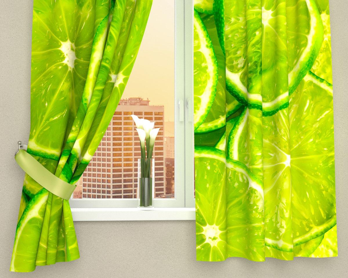 Комплект фотоштор Сирень Лайм, на ленте, высота 160 см01186-ФК-ГБ-002Фотошторы для кухни Сирень Лайм, выполненные из габардина (100% полиэстера), отлично дополнят украшение любого интерьера. Особенностью ткани габардин является небольшая плотность, из-за чего ткань хорошо пропускает воздух и солнечный свет. Ткань хорошо держит форму, не требует специального ухода. Крепление на карниз при помощи шторной ленты на крючки. В комплекте 2 шторы. Ширина одного полотна: 145 см. Высота штор: 160 см. Рекомендации по уходу: стирка при 30 градусах, гладить при температуре до 110 градусов. Изображение на мониторе может немного отличаться от реального. Подхваты в комплект не входят.
