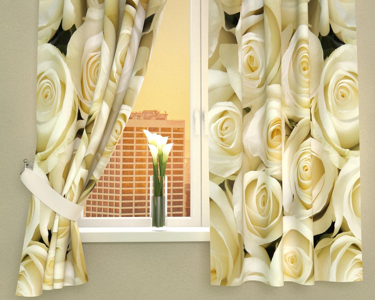 Комплект фотоштор Сирень Душистые розы, на ленте, высота 160 см02331-ФК-ГБ-002Фотошторы для кухни Сирень Душистые розы, выполненные из габардина (100% полиэстера), отлично дополнят украшение любого интерьера. Особенностью ткани габардин является небольшая плотность, из-за чего ткань хорошо пропускает воздух и солнечный свет. Ткань хорошо держит форму, не требует специального ухода. Крепление на карниз при помощи шторной ленты на крючки. В комплекте 2 шторы. Ширина одного полотна: 145 см. Высота штор: 160 см. Рекомендации по уходу: стирка при 30 градусах, гладить при температуре до 110 градусов. Изображение на мониторе может немного отличаться от реального. Подхваты в комплект не входят.