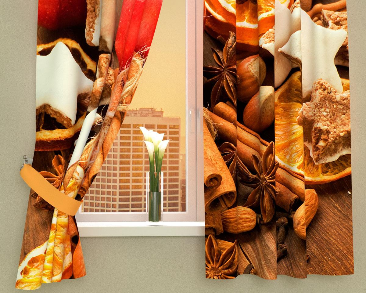 Комплект фотоштор Сирень Пряный аромат, на ленте, высота 160 см02575-ФК-ГБ-002Фотошторы для кухни Сирень Пряный аромат, выполненные из габардина (100% полиэстера), отлично дополнят украшение любого интерьера. Особенностью ткани габардин является небольшая плотность, из-за чего ткань хорошо пропускает воздух и солнечный свет. Ткань хорошо держит форму, не требует специального ухода. Крепление на карниз при помощи шторной ленты на крючки. В комплекте 2 шторы. Ширина одного полотна: 145 см. Высота штор: 160 см. Рекомендации по уходу: стирка при 30 градусах, гладить при температуре до 110 градусов. Изображение на мониторе может немного отличаться от реального. Подхваты в комплект не входят.