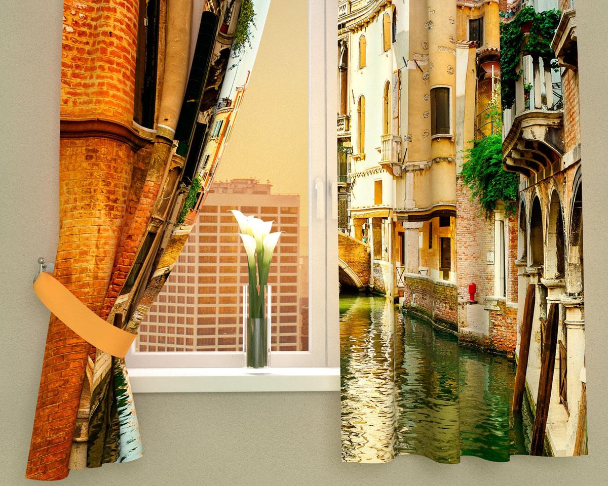 Комплект фотоштор Сирень Солнечный день в Венеции, на ленте, высота 160 см02609-ФК-ГБ-002Фотошторы для кухни Сирень Солнечный день в Венеции, выполненные из габардина (100% полиэстера), отлично дополнят украшение любого интерьера. Особенностью ткани габардин является небольшая плотность, из-за чего ткань хорошо пропускает воздух и солнечный свет. Ткань хорошо держит форму, не требует специального ухода. Крепление на карниз при помощи шторной ленты на крючки. В комплекте 2 шторы. Ширина одного полотна: 145 см. Высота штор: 160 см. Рекомендации по уходу: стирка при 30 градусах, гладить при температуре до 110 градусов. Изображение на мониторе может немного отличаться от реального. Подхваты в комплект не входят.