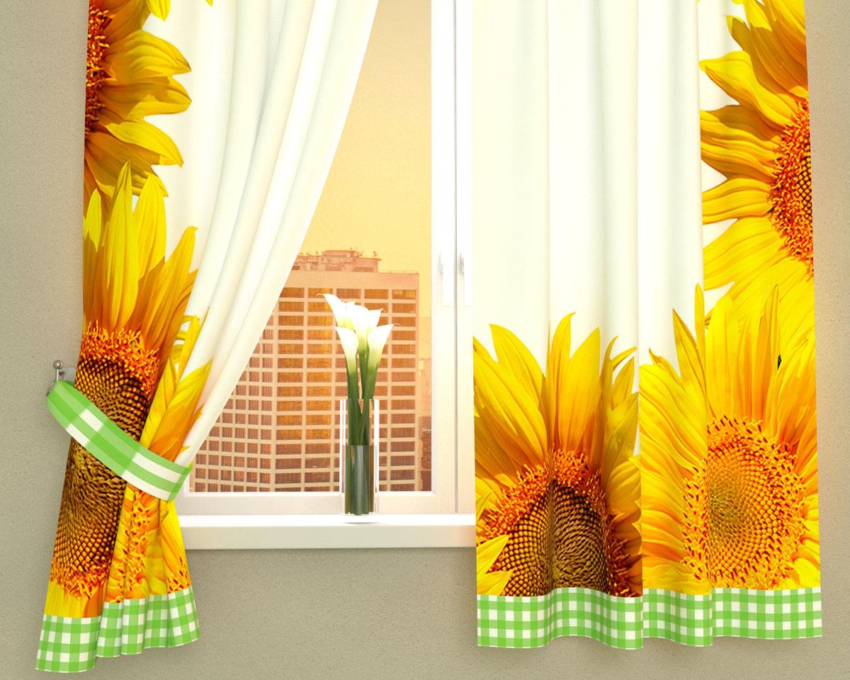 Комплект фотоштор Сирень Солнечное настроение, на ленте, высота 160 см02996-ФК-ГБ-002Фотошторы для кухни Сирень Солнечное настроение, выполненные из габардина (100% полиэстера), отлично дополнят украшение любого интерьера. Особенностью ткани габардин является небольшая плотность, из-за чего ткань хорошо пропускает воздух и солнечный свет. Ткань хорошо держит форму, не требует специального ухода. Крепление на карниз при помощи шторной ленты на крючки. В комплекте 2 шторы. Ширина одного полотна: 145 см. Высота штор: 160 см. Рекомендации по уходу: стирка при 30 градусах, гладить при температуре до 110 градусов. Изображение на мониторе может немного отличаться от реального. Подхваты в комплект не входят.