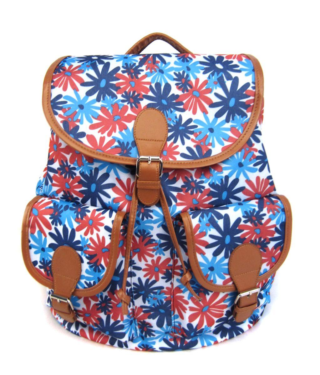 Рюкзак молодежный Creative Герберы, цвет: мультиколор, 23 лGL-BC842Модель, которая дарит радостное весеннее настроение и, несомненно, привлечет немало восхищенных взглядов. Этот вместительный рюкзак традиционного кроя – просто образец функциональности. Рюкзак закрывается на клапан, впереди – два кармана с клапанами.