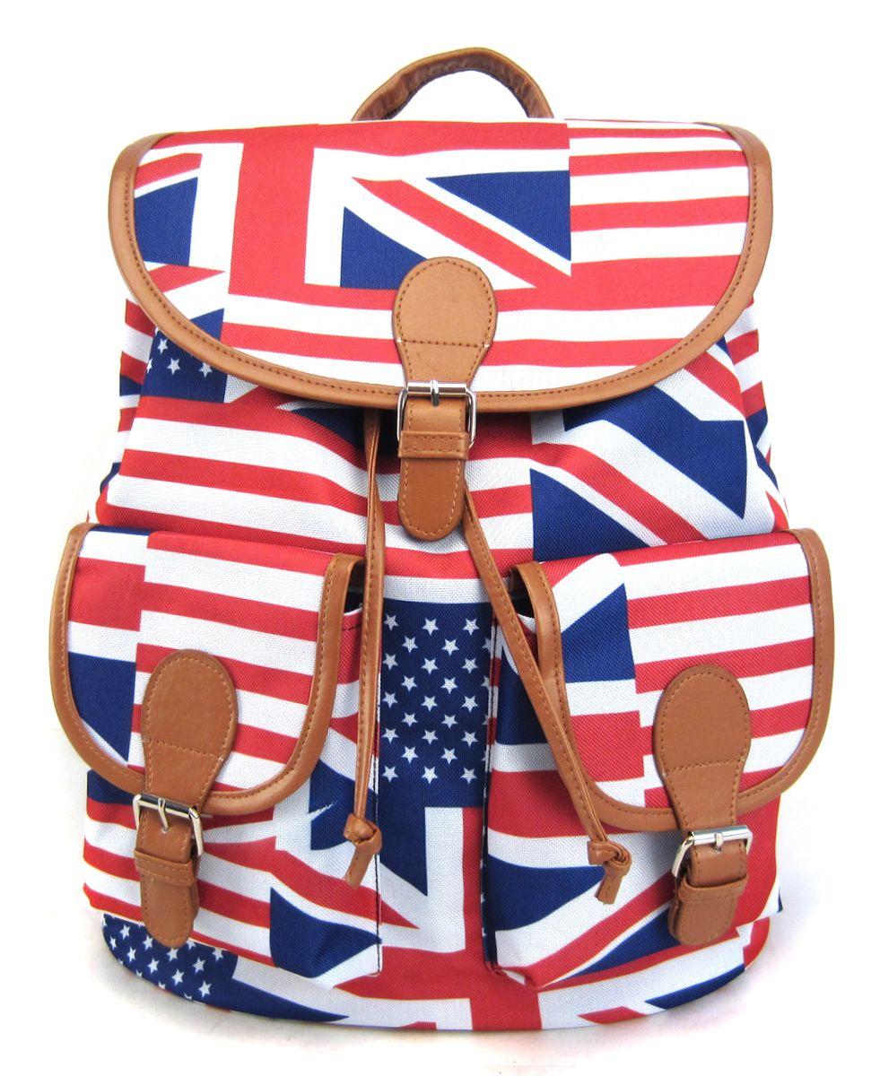 Рюкзак молодежный Creative American Flag, цвет: мультиколор, 23 лGL-BC854Яркая и немного дерзкая вариация на тему расцветки британского флага. Этот рюкзак – точно выделит своего владельца из толпы и привлечет к немумножество заинтересованных взглядов.