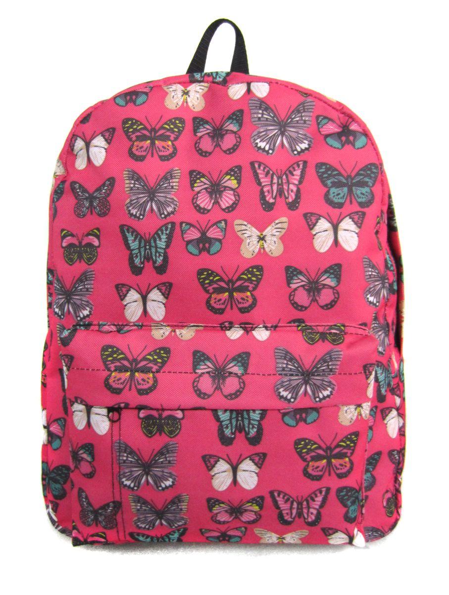 Рюкзак молодежный Creative Махаоны, цвет: розовый, 16 лGL-BC879Лаконичная и очень удобная модель, в которую поместится все: школьные принадлежности и завтрак, спортивная форма, любимые игрушки, ноутбук. Это рюкзак универсален именно благодаря удобному и простому крою.