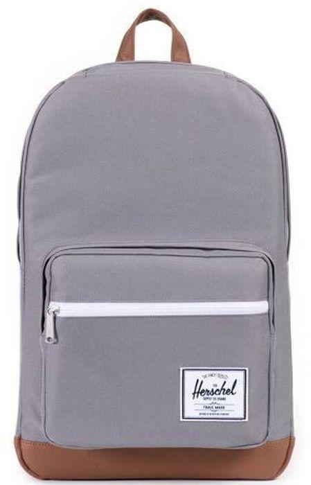 Рюкзак городской Herschel Pop Quiz, цвет: серый, коричневый, 22 л10011-00006-OSРюкзак Herschel Pop Quiz - универсальный рюкзак для школы и работы, с широким спектром карманов и органайзером.