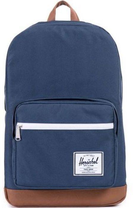 Рюкзак городской Herschel Pop Quiz, цвет: синий, коричневый, 22 л10011-00007-OSРюкзак Herschel Pop Quiz - универсальный рюкзак для школы и работы, с широким спектром карманов и органайзером.