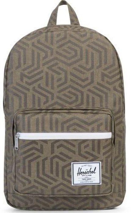 Рюкзак городской Herschel Pop Quiz Metric, 22 л10011-01147-OSРюкзак Herschel Pop Quiz - универсальный рюкзак для школы и работы, с широким спектром карманов и органайзером.