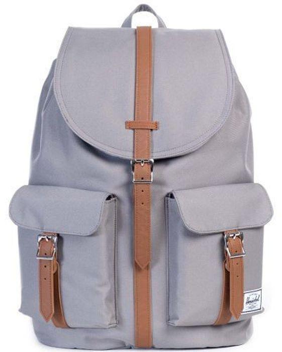 Рюкзак городской Herschel Dawson, цвет: серый, коричневый, 20,5 л10233-00006-OSРюкзак Herschel Dawson - функциональный и вместительный, создан для разведки. Удобные внешние карманы.