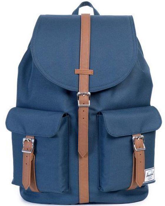 Рюкзак городской Herschel Dawson, цвет: синий, коричневый, 20,5 л10233-00007-OSРюкзак Herschel Dawson - функциональный и вместительный, создан для разведки. Удобные внешние карманы.