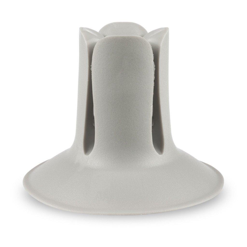 DOC /Держатель-присоска /сераяR005096Многофункциональный держатель-присоска, который может быть использован для хранения зубной щетки и других предметов домашнего обихода.Держатель DOC создан для беспроблемного хранения зубных щеток любых размеров и форм.