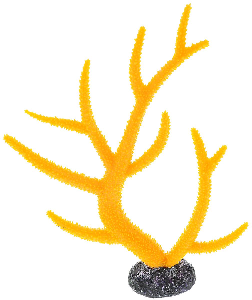 Декорация для аквариума Barbus Коралл, цвет: желтый, 26 х 6,4 х 33,5 смDecor 260Декорация для аквариума Barbus Коралл, выполненная из высококачественного нетоксичного полирезина, станет прекрасным украшением вашего аквариума. Изделие отличается реалистичным исполнением с множеством мелких деталей. Декорация абсолютно безопасна, нейтральна к водному балансу, устойчива к истиранию краски, подходит как для пресноводного, так и для морского аквариума. Благодаря декорациям Barbus вы сможете смоделировать потрясающий пейзаж на дне вашего аквариума или террариума.