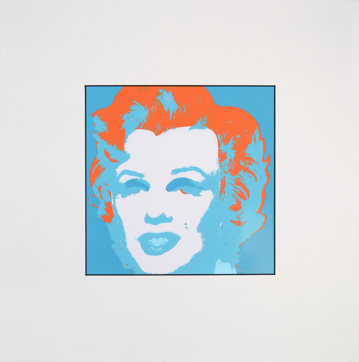 Энди Уорхол Портрет Мэрилин Монро (Marilyn Monroe Portrait 1967). Шелкография на картоне. Лимитированное издание. Швейцария, ART 18, 1987 год