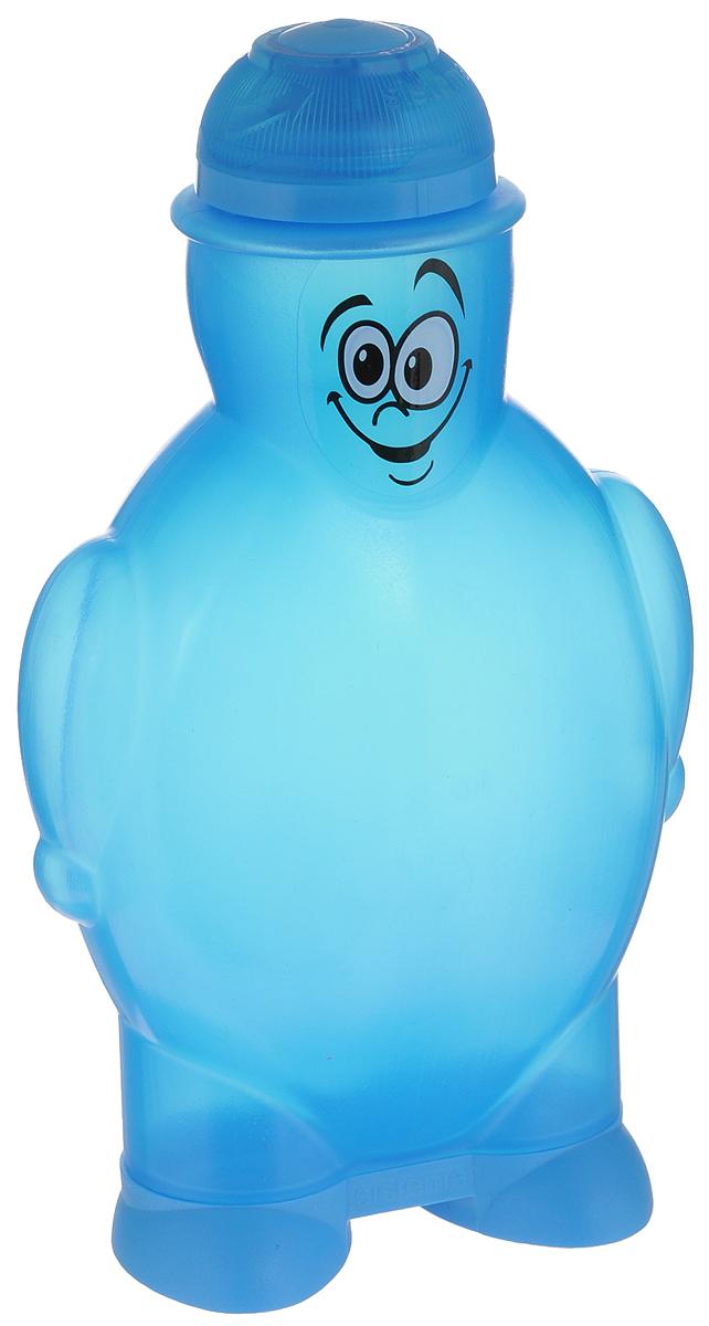 Бутылка для воды Sistema, цвет: синий, 350 мл790_синийБутылка для воды Sistema изготовлена из пластика. Многоразовая бутылка вместимостью 350 мл пригодится в спортзале, на прогулке, дома, на даче. Герметично закрывается. Именно благодаря простоте и комфорту в использовании, качественным материалам и стильному дизайну, бутылочка для воды с поилкой так популярна.