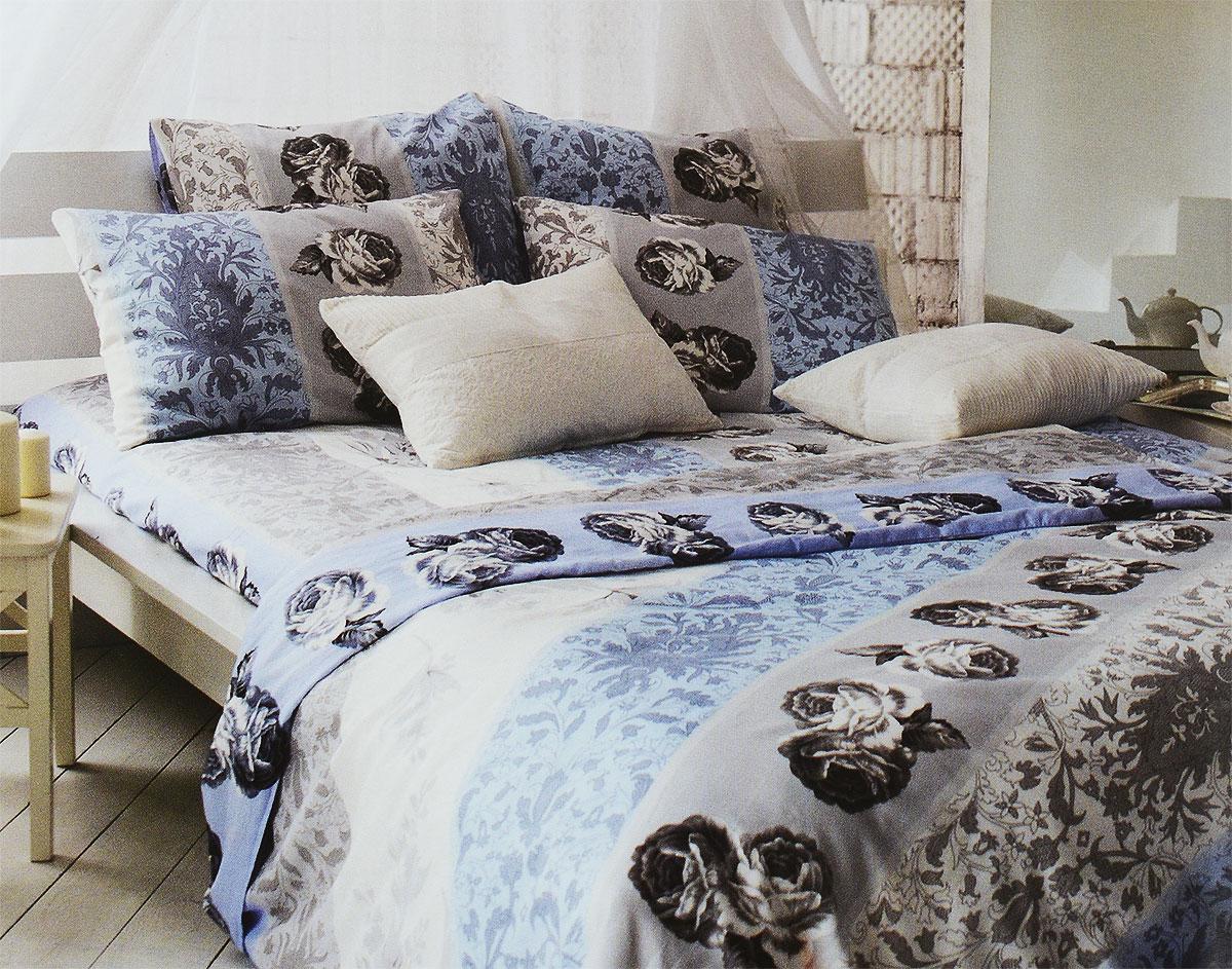Комплект белья Tiffanys Secret Небесный эскиз, 2-спальный, наволочки 70х70, цвет: голубой, белый, серый2040815174Комплект постельного белья Tiffanys Secret Небесный эскиз является экологически безопасным для всей семьи, так как выполнен из сатина (100% хлопок). Комплект состоит из пододеяльника, простыни и двух наволочек. Предметы комплекта оформлены оригинальным рисунком. Благодаря такому комплекту постельного белья вы сможете создать атмосферу уюта и комфорта в вашей спальне. Сатин - это ткань, навсегда покорившая сердца человечества. Ценившие роскошь персы называли ее атлас, а искушенные в прекрасном французы - сатин. Секрет высококачественного сатина в безупречности всего технологического процесса. Эту благородную ткань делают только из отборной натуральной пряжи, которую получают из самого лучшего тонковолокнистого хлопка. Благодаря использованию самой тонкой хлопковой нити получается необычайно мягкое и нежное полотно. Сатиновое постельное белье превращает жаркие летние ночи в прохладные и освежающие, а холодные зимние - в теплые и ...
