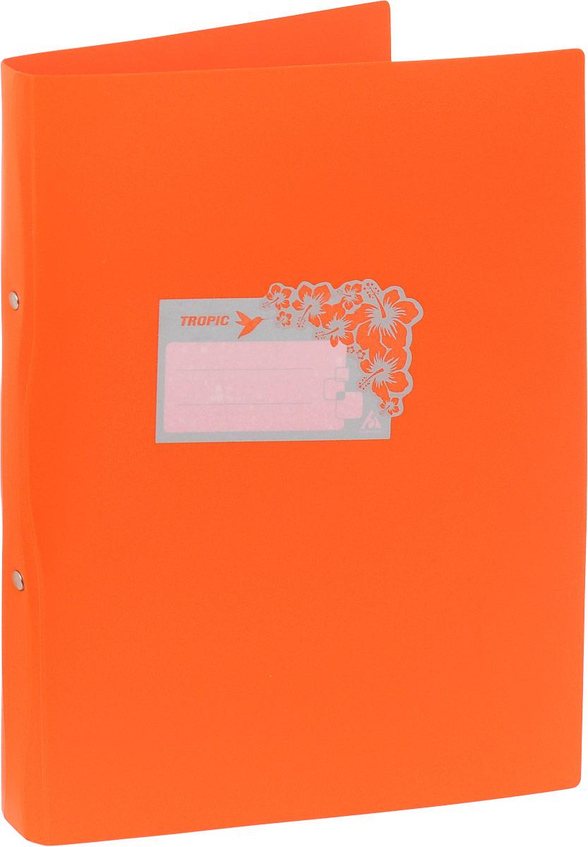 Бюрократ Папка-скоросшиватель Tropic формат А4 цвет оранжевый816882_оранжевыйПапка Бюрократ Tropic формата А4 идеально подходит для подшивки бумаг в архивные папки с помощью металлического скоросшивателя. Папка изготовлена из прочного высококачественного пластика. С такой папкой все ваши документы будут в полной сохранности.
