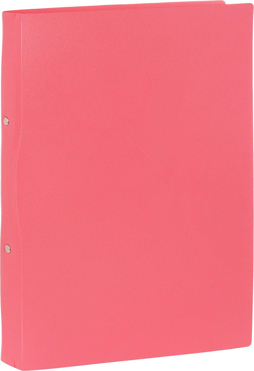Бюрократ Папка-скоросшиватель Tropic формат А4 цвет розовый
