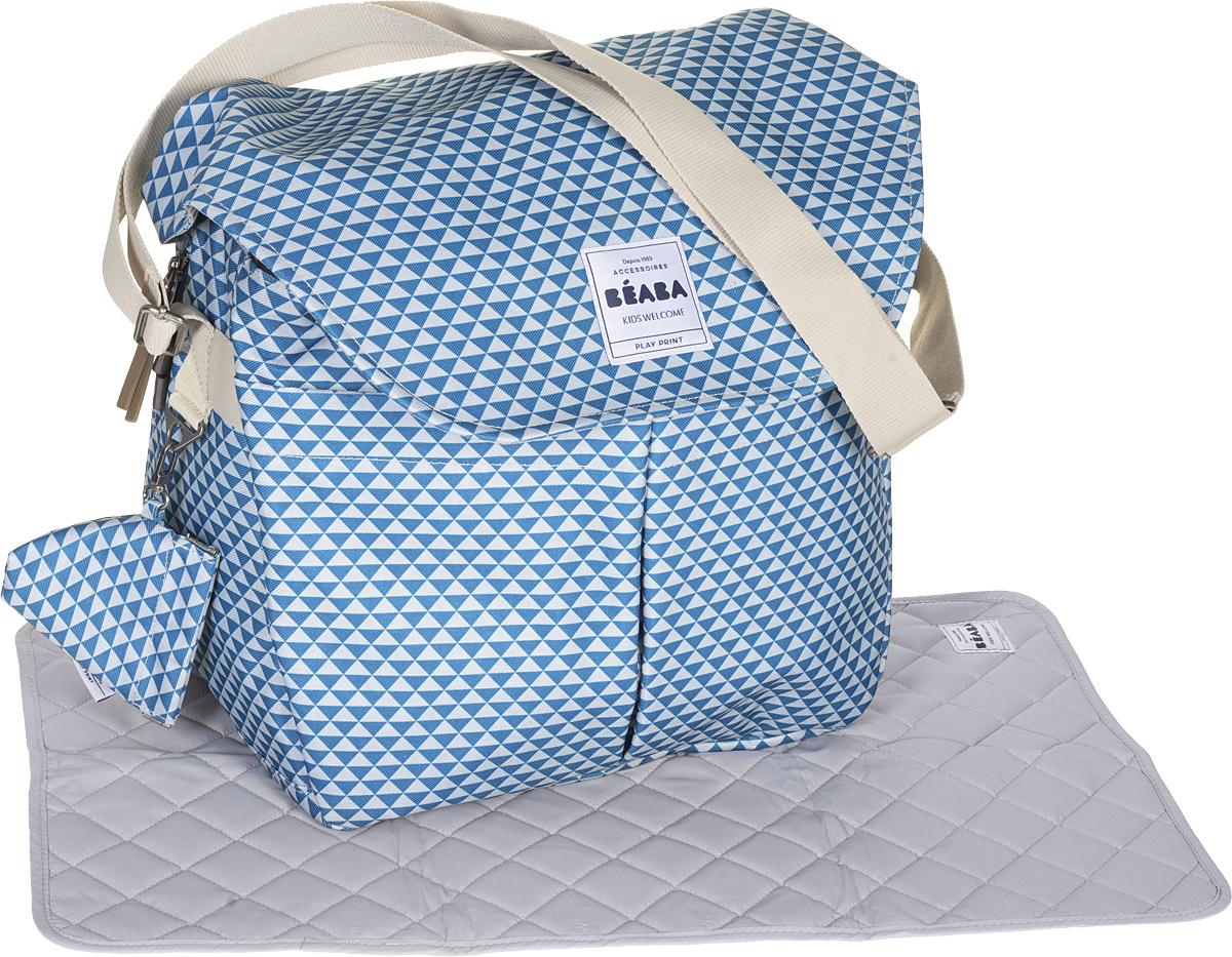 Beaba Сумка для мамы Changing Bag Vienna Ii цвет морская волна