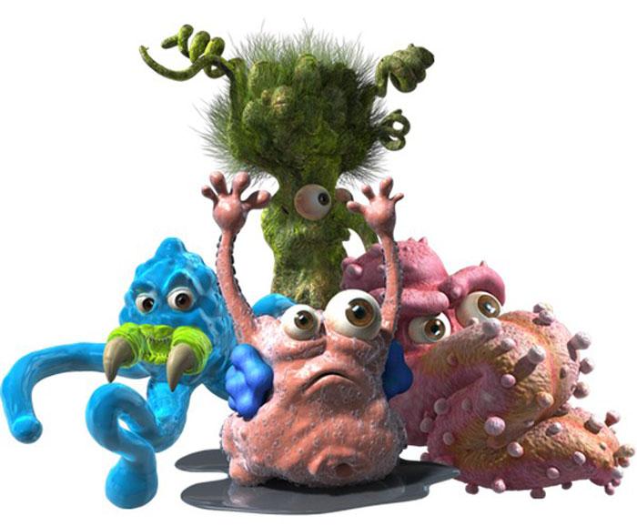 Fungus Amungus Фигурка Мешок дезинфектора22517.2369Перед вами новая коллекционная фигурка Мешок дезинфектора из серии Fungus Amungus, призванная пробуждать в детях интерес к научным открытиям. Эта серия игрушек посвящена сбежавшим из бактериологической лаборатории микробам: сезон охоты на них уже начался, соберите свою коллекцию! Игрушки сделаны из гибкого, липкого пластика: могут растягиваться, расплющиваться, а еще несколько микробов могут слипнуться в один большой. Ваша задача сделать уникальную игрушку. В непрозрачном мешке дезинфектора спряталась одна бактерия. Какая? Это сюрприз. Откройте мешок и найдите героя. Вы сможете определить принадлежность персонажа, пользуясь руководством коллекционера, которое также находится внутри.