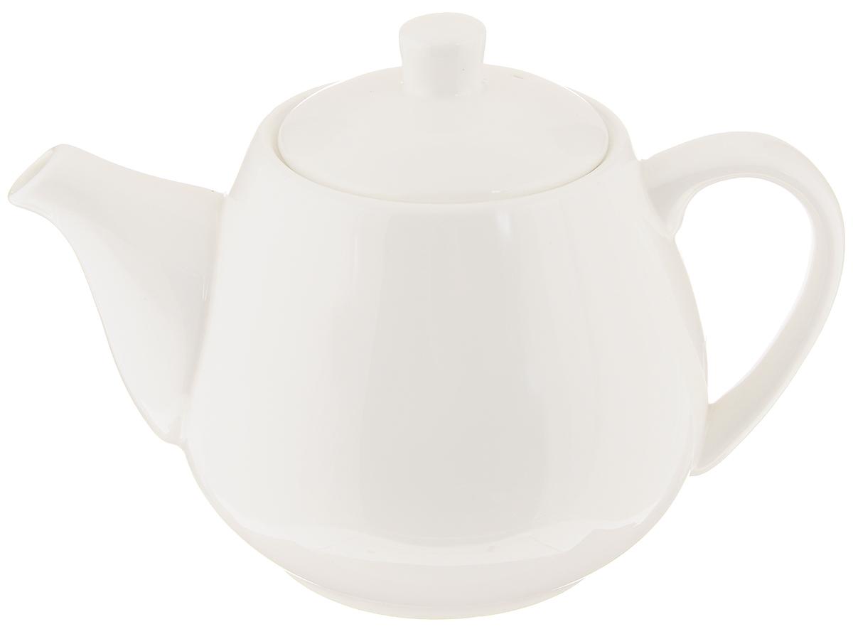 Чайник заварочный Wilmax, 500 мл. WL-994030 / AWL-994030 / A_белыйЗаварочный чайник Wilmax изготовлен из высококачественного фарфора. Глазурованное покрытие обеспечивает легкую очистку. Изделие прекрасно подходит для заваривания вкусного и ароматного чая, а также травяных настоев. Отверстия в основании носика препятствует попаданию чаинок в чашку. Оригинальный дизайн сделает чайник настоящим украшением стола. Он удобен в использовании и понравится каждому. Можно мыть в посудомоечной машине и использовать в микроволновой печи. Диаметр чайника (по верхнему краю): 7 см. Высота чайника (без учета крышки): 9,5 см. Высота чайника (с учетом крышки): 11,5 см.