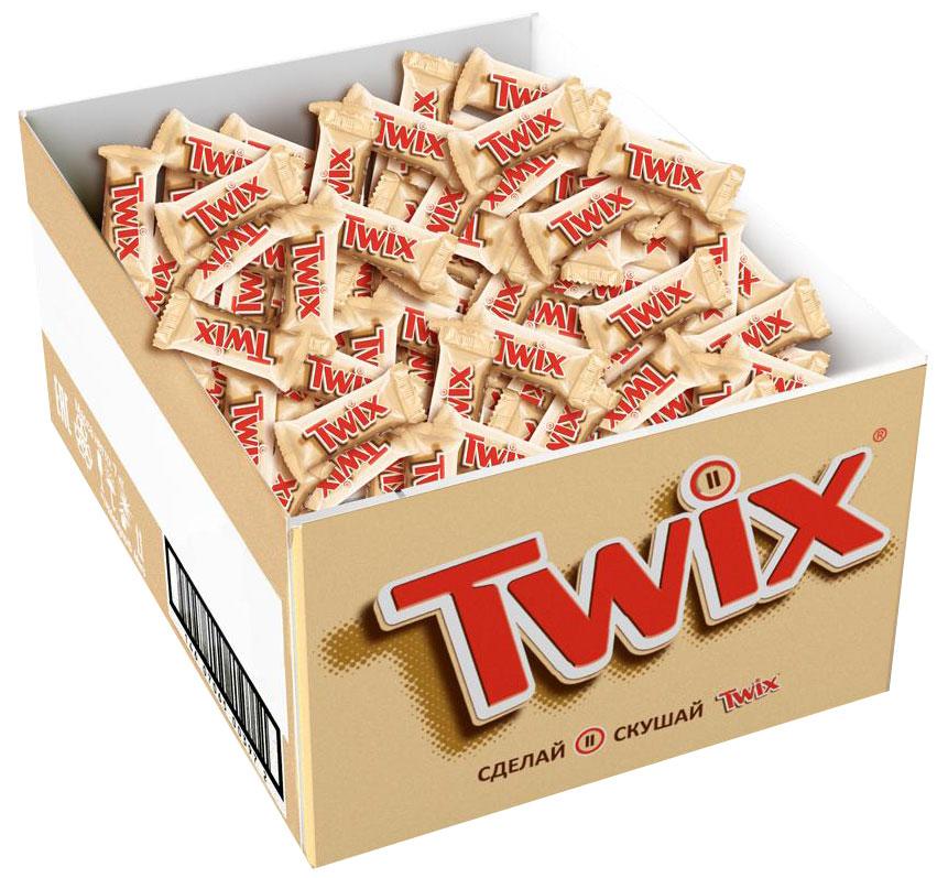 Twix minis шоколадный батончик, 2,7 кг79006021Шоколадные батончики Twix minis - это хрустящее печенье, густая карамель и великолепный молочный шоколад. Чаепитие с Twix в компании коллег, друзей или родных - отличное способ провести свободное время. Сделай паузу - скушай Twix. Уважаемые клиенты! Обращаем ваше внимание, что полный перечень состава продукта представлен на дополнительном изображении.