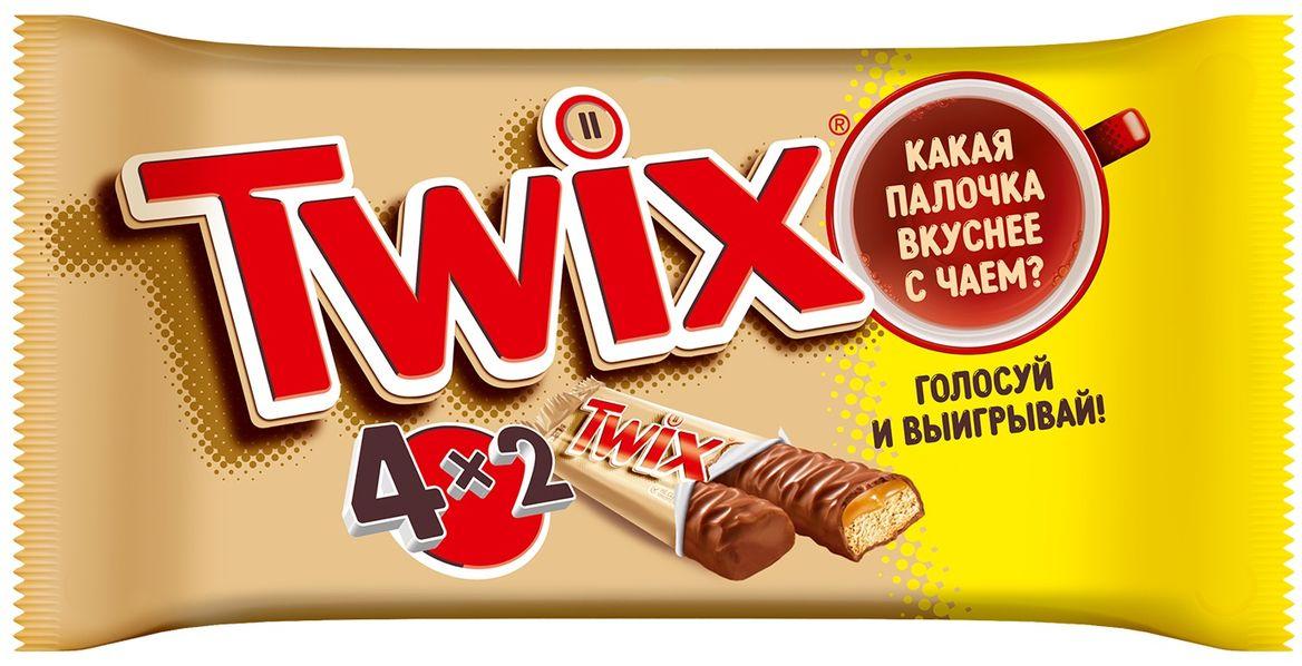 Twix Мультипак батончик, 220 г