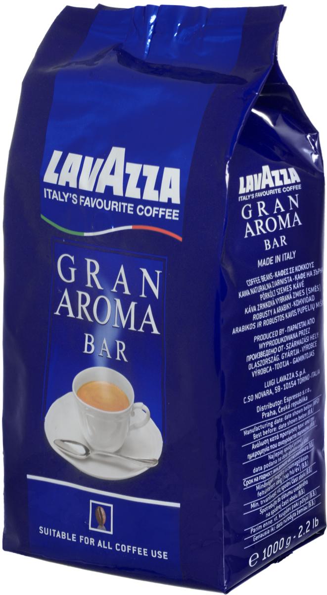 Lavazza Gran Aroma кофе в зернах, 1 кг8000070024816Арабика Центральной и Южной Америки в сочетании со смесью Робусты из Индонезии и Африки обеспечивают неповторимый вкус и пенку настоящего итальянского эспрессо. Средняя обжарка зерен кофе Lavazza Gran Aroma придаёт характерный вкус этому напитку и устойчивое послевкусие.