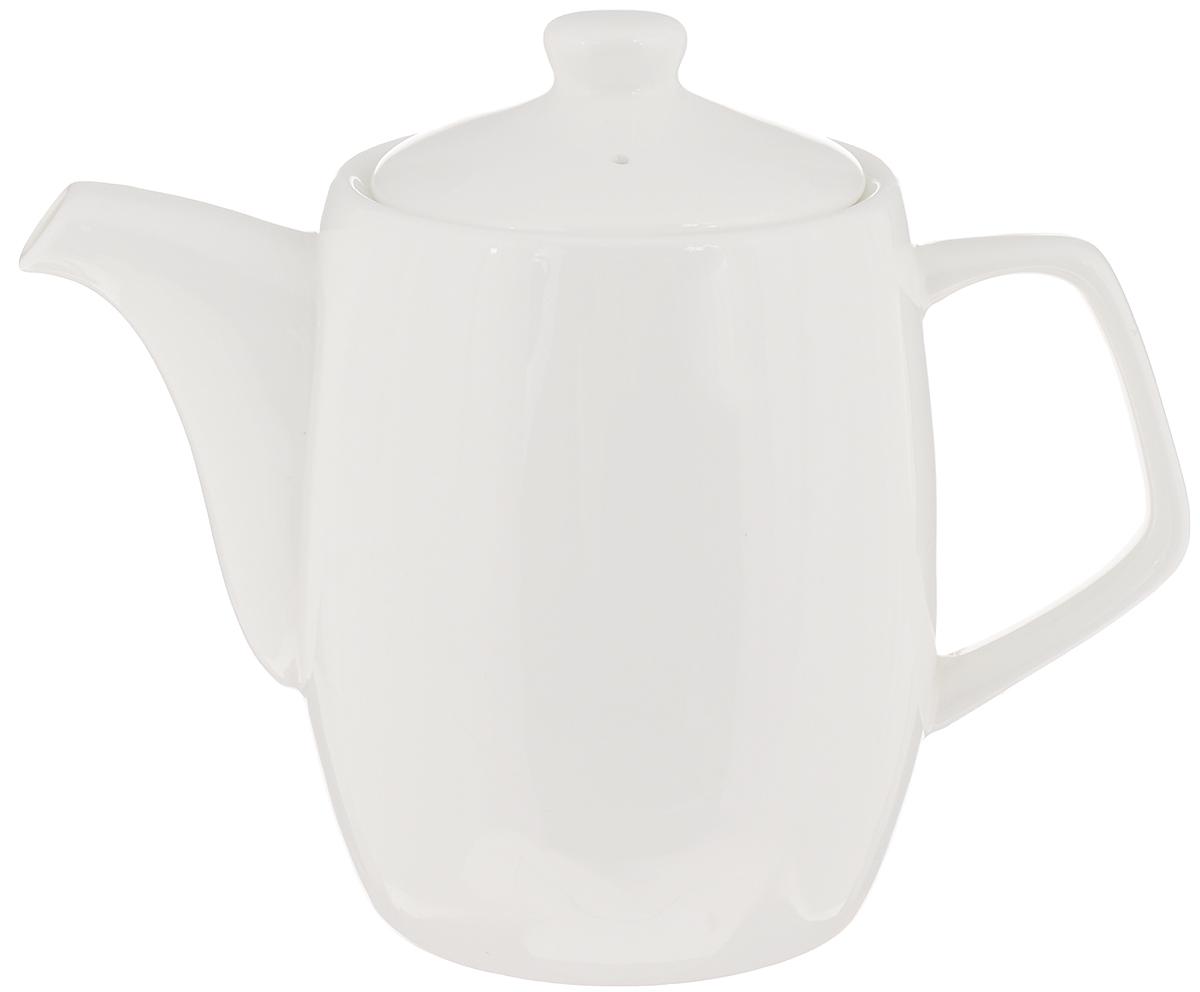 Чайник заварочный Wilmax, 650 мл. WL-994006 / 1CWL-994006 / 1CЗаварочный чайник Wilmax изготовлен из высококачественного фарфора. Глазурованное покрытие обеспечивает легкую очистку. Изделие прекрасно подходит для заваривания вкусного и ароматного чая, а также травяных настоев. Отверстия в основании носика препятствует попаданию чаинок в чашку. Оригинальный дизайн сделает чайник настоящим украшением стола. Он удобен в использовании и понравится каждому. Можно мыть в посудомоечной машине и использовать в микроволновой печи. Диаметр чайника (по верхнему краю): 8,5 см. Высота чайника (без учета крышки): 11,5 см. Высота чайника (с учетом крышки): 14 см.