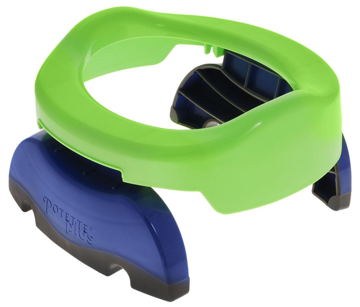 """Дорожный горшок """"Potette Plus"""", цвет: зеленый 23011"""