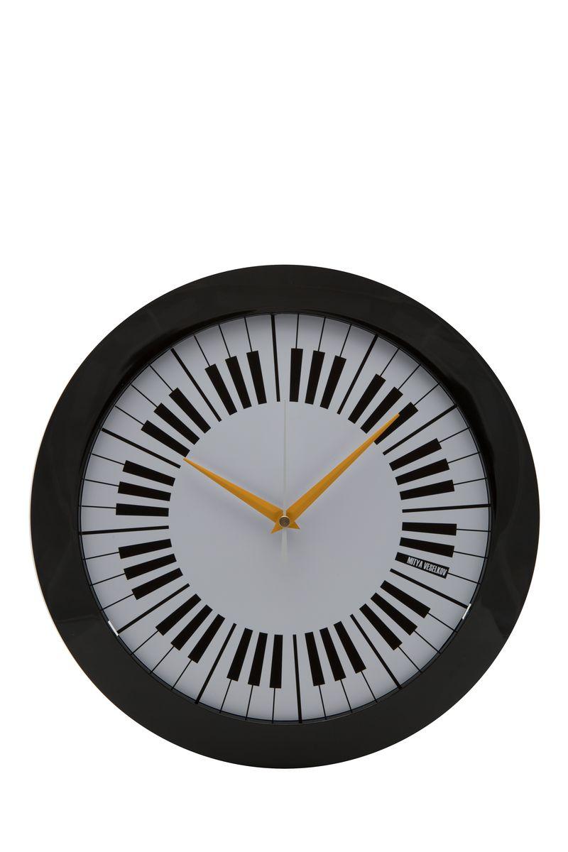 Часы настенные Mitya Veselkov Пианино, цвет: черный. MVC.NAST-007MVC.NAST-007