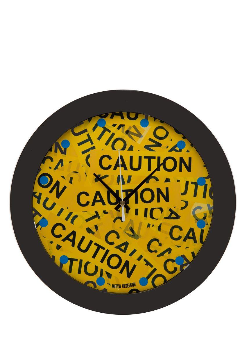 Часы настенные Mitya Veselkov Скотч, цвет: черный. MVC.NAST-023MVC.NAST-023