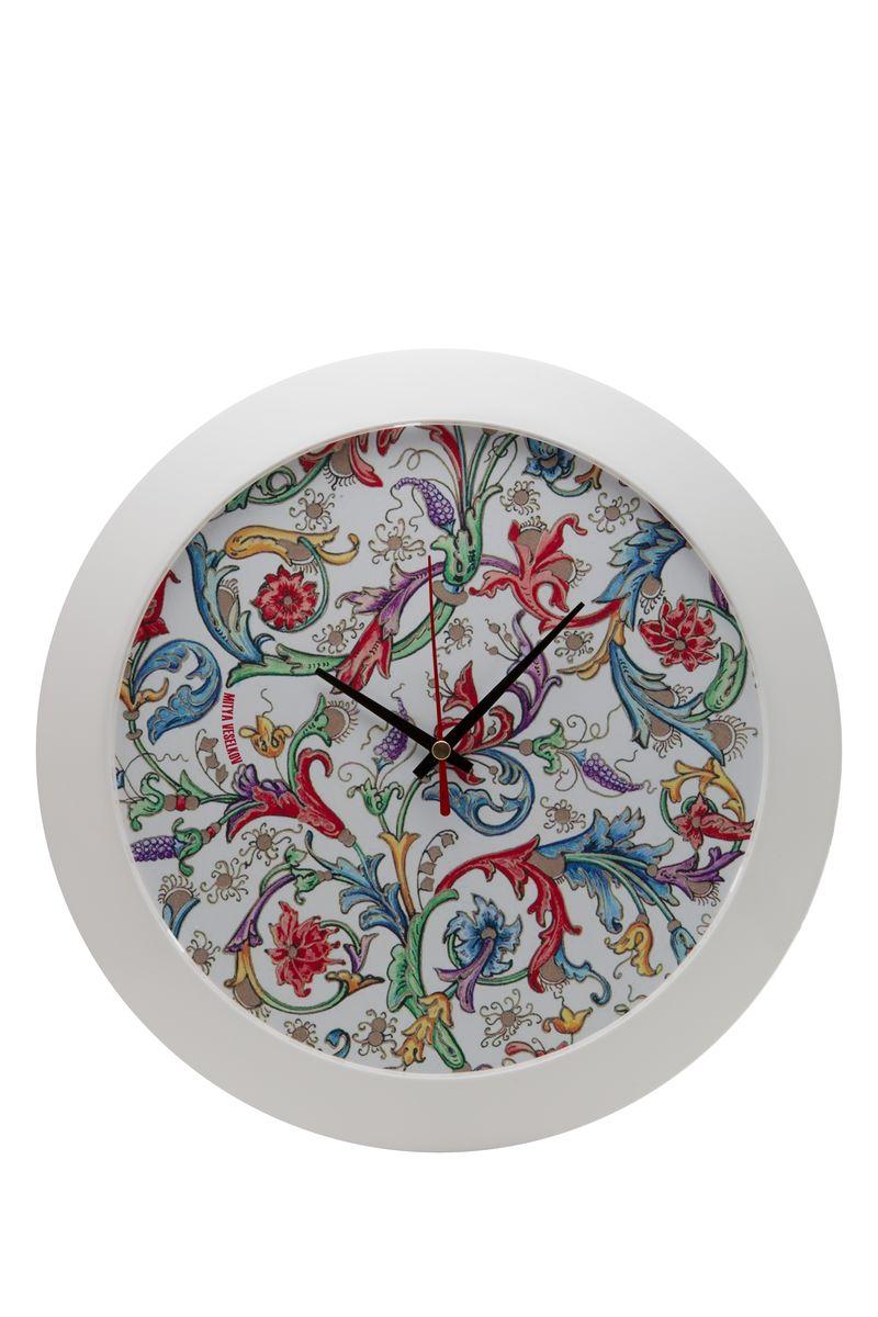 Часы настенные Mitya Veselkov Райский сад, цвет: белый. MVC.NAST-030MVC.NAST-030