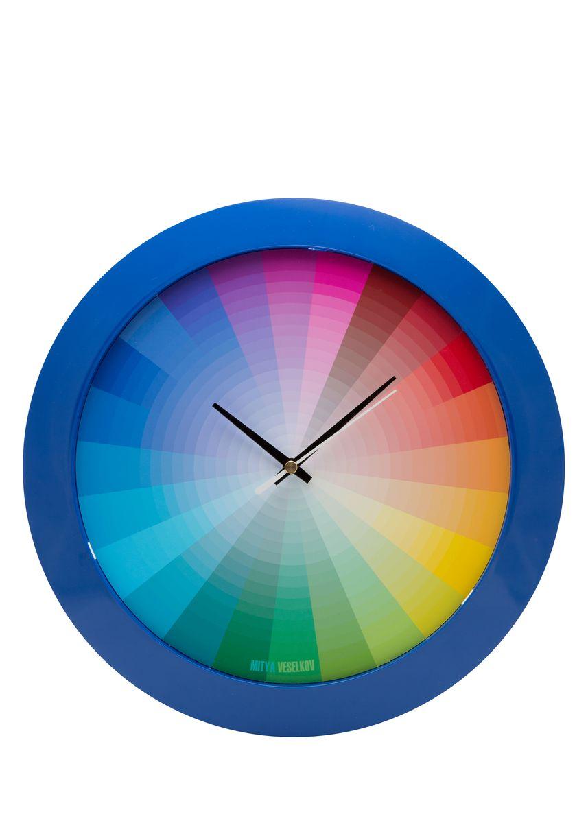 Часы настенные Mitya Veselkov Радуга, цвет: синий. MVC.NAST-044MVC.NAST-044