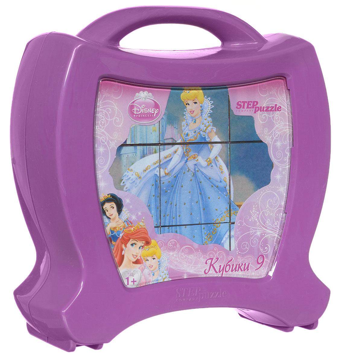 Step Puzzle Кубики Принцессы в чемоданчике87114С помощью кубиков Step Puzzle Принцессы ребенок сможет собрать целых шесть красочных картинок с любимыми принцессами Диснея. Игра с кубиками развивает зрительное восприятие, наблюдательность, мелкую моторику рук и произвольные движения. Ребенок научится складывать целостный образ из частей, определять недостающие детали изображения. Это прекрасный комплект для развлечения и времяпрепровождения с пользой для малышки.
