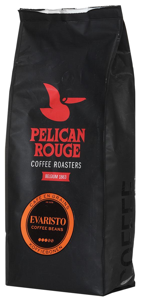 Pelican Rouge Evaristo кофе в зернах, 1 кг5410958117715Смесь Pelican Rouge Evaristo производится из сортов Арабики и Робусты наивысшего качества. Приятный, сладкий аромат карамели переплетается со вкусом сухофруктов и послевкусием какао. Идеальна для приготовления эспрессо, капучино и кофейных напитков с молоком на профессиональном оборудовании.
