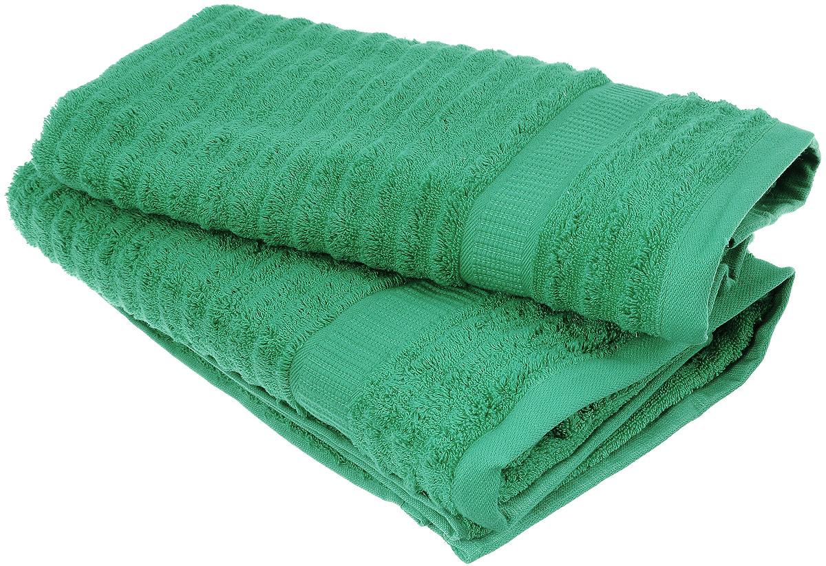 Набор хлопковых полотенец Home Textile, цвет: зеленый, 2 штLX-OZ18Набор Home Textile состоит из двух полотенец разного размера, выполненных из качественной натуральной махры (100% хлопок). Полотенца имеют ворс различной длины, что создает рельефную текстуру, и классический бордюр. Мягкие и уютные, они прекрасно впитывают влагу и легко стираются. Кроме того, хлопковые полотенца отличаются высокой износоустойчивостью и долгим сроком службы. Такой набор полотенец подарит массу положительных эмоций и приятных ощущений.
