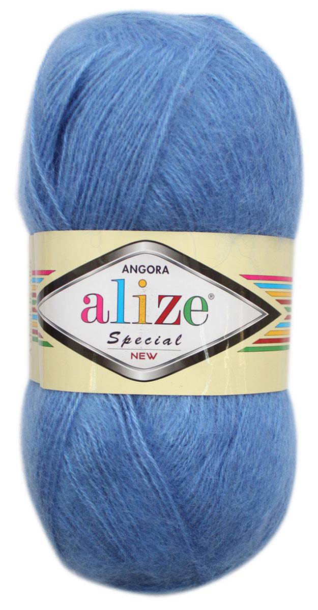 Пряжа для вязания Alize Angora Special New, цвет: голубой (237), 550 м, 100 г, 5 шт497057_237Alize Angora Special New - это ровная, тонкая и пушистая пряжа, изготовленная из 51% акрила, 24% шерсти, 25% мохера. Нить не вытягивается, достаточно прочная и крепкая. Такая пряжа идеально подойдет для вязания зимних вещей (шарфов, жилетов, пуловеров), с различными ажурными узорами. Вещи, связанные из этой пряжи, хорошо и долго носятся, не выгорают и не линяют. Предназначена для ручного вязания спицами и крючком. Рекомендуемый размер спиц: № 3-5 мм. Рекомендованный размер крючка: № 1-3 мм. Состав: 51% акрил, 24% шерсть, 25% мохер.