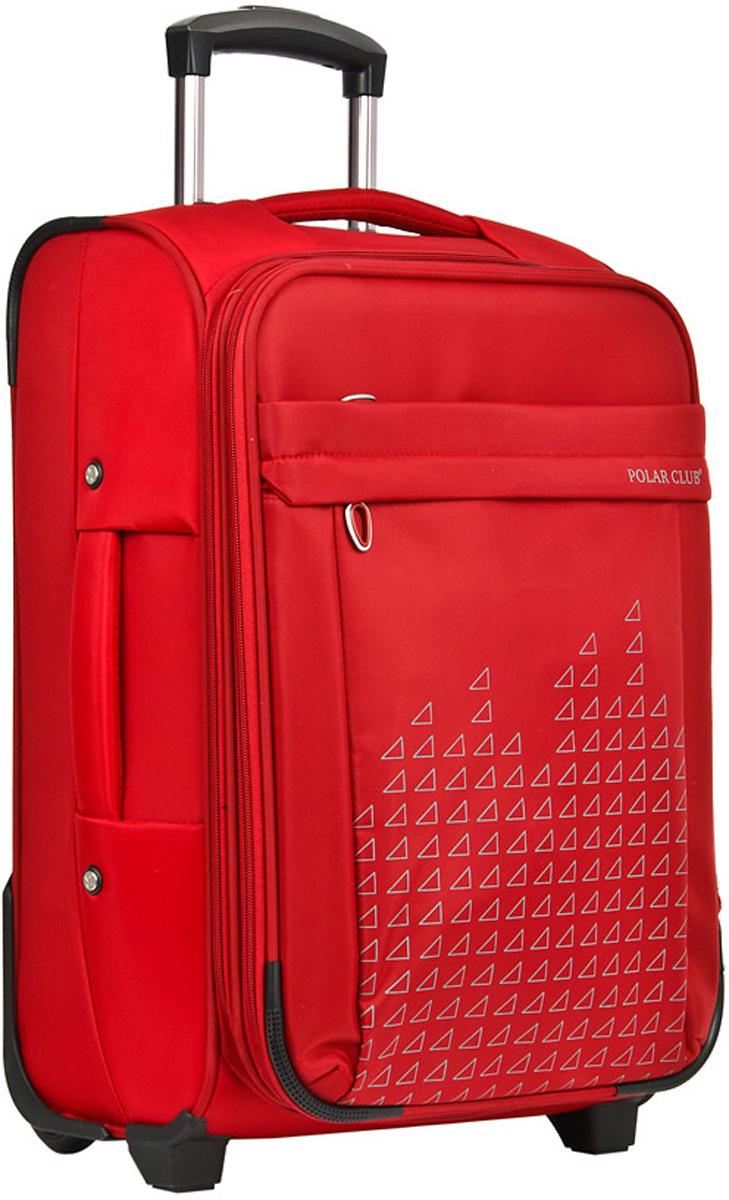 Чемодан мягкий Polar, цвет: красный, 58,5 л, 41 х 62 х 23 см. Р8635(24)Р8635(24)Суперлегкий Чемодан Polar средний. Основное отделение на подкладке из нейлона имеет фиксирующие ремни и карман-портплед для глаженых вещей. Также, основное отделение можно увеличить в объеме, расстегнув молнию, при этом чемодан увеличивается в толщину на 5см. Выдвигающаяся ручка расположена внутри корпуса чемодана, что способствует большей прочности и защите от ударов при разгрузке/погрузке чемодана. Выдвигающаяся ручка фиксируется в двух положениях. Снаружи на передней стенке — большой карман на молнии. Есть кодовый замок. Надежные два прорезиненных колеса на подшипниках, диаметр 6 см.