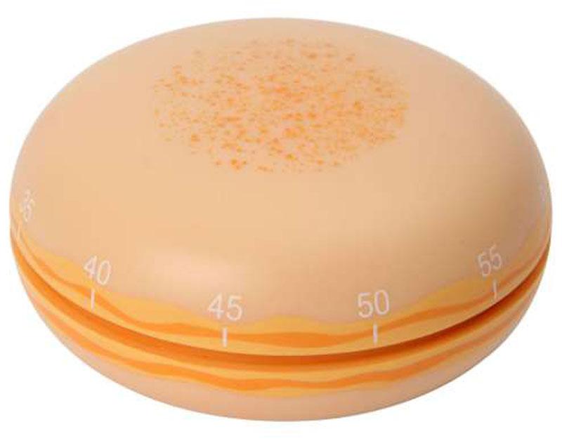 Таймер кухонный Dexam Макарони, цвет: абрикосовый, на 60 минут17840461_APRСтильный яркий кухонный таймер Dexam Макарони поможет приготовить блюдо с учетом времени, указанного в рецепте. Таймер выполнен из пластика в виде пирожного макарони. Максимальное время, на которое вы можете поставить таймер, составляет 60 минут. После того, как время истечет, таймер громко зазвенит. Оригинальный дизайн таймера украсит интерьер любой современной кухни, и теперь вы сможете без труда вскипятить молоко, отварить пельмени или вовремя вынуть из духовки аппетитный пирог.