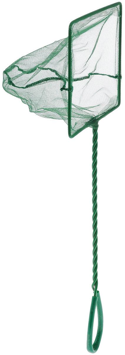 Сачок аквариумный Barbus, 15 х 12,5 смAccessory 030Сачок Barbus предназначен для легкого извлечения рыб или остатков корма из аквариума. Изделие выполнено из металла со специальным пластиковым покрытием. Такой сачок безопасен для рыб, устойчив к коррозии и долговечен. Сетка выполнена из прочного нейлона. На ручке имеется петля для подвешивания. Размер сачка: 15 х 12,5 см. Длина ручки: 30 см.