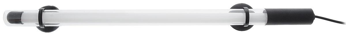 Лампа аквариумная Barbus, энергосберегающая, цвет: белый, длина 35 см, 6WT4-35 WhiteЭнергосберегающая лампа Barbus идеально подходит для создания современного аквариумного дизайна. Погружается до глубины 70 см. Свечение лампы специально разработан для интенсивности окраски рыб и стимуляции роста растений. Лампа водонепроницаема. Крепится с помощью двух присосок. Работает от электросети. Цвет лампы: белый. Длина лампы: 35 см.