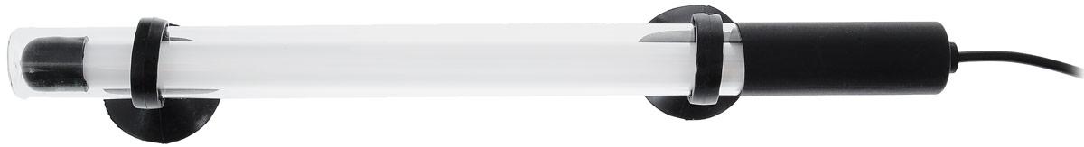 Лампа аквариумная Barbus, энергосберегающая, цвет: голубой, длина 25 см, 4WT4-25 BlueЭнергосберегающая лампа Barbus идеально подходит для создания современного аквариумного дизайна. Погружается до глубины 70 см. Свечение лампы специально разработан для интенсивности окраски рыб и стимуляции роста растений. Лампа водонепроницаема. Крепится с помощью двух присосок. Работает от электросети. Цвет лампы: голубой. Длина лампы: 25 см.