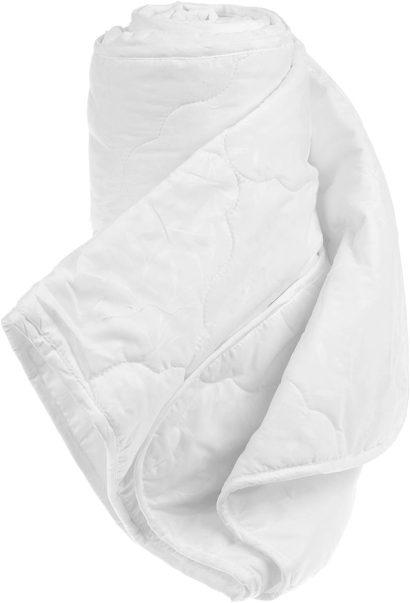 Одеяло Sova & Javoronok, наполнитель: бамбуковое волокно, полиэфирное волокно, 140 х 205 см05030116078Одеяло Sova & Javoronok подарит комфорт и уют во время сна. Чехол, выполненный из микрофибры (100% полиэстер), оформлен стежкой и надежно удерживает наполнитель внутри. Наполнитель одеяла изготовлен из 30% верблюжьей шерсти и 70% полиэфирного волокна. Волокно на основе бамбука - инновационный наполнитель, обладающий за счет своей пористой структуры хорошей воздухонепроницаемостью и высокой гигроскопичностью, обеспечивает оптимальный уровень влажности во время сна и создает чувство прохлады в жаркие дни. Антибактериальный эффект наполнителя достигается за счет содержания в нем специального компонента, а также за счет поглощения влаги, что создает сухой микроклимат, препятствующий росту бактерий. Основные свойства волокна: - хорошая терморегуляция, - свободная циркуляция воздуха, - антибактериальные свойства, - повышенная гигроскопичность, - мягкость и легкость, - удобство в эксплуатации и легкость стирки. ...