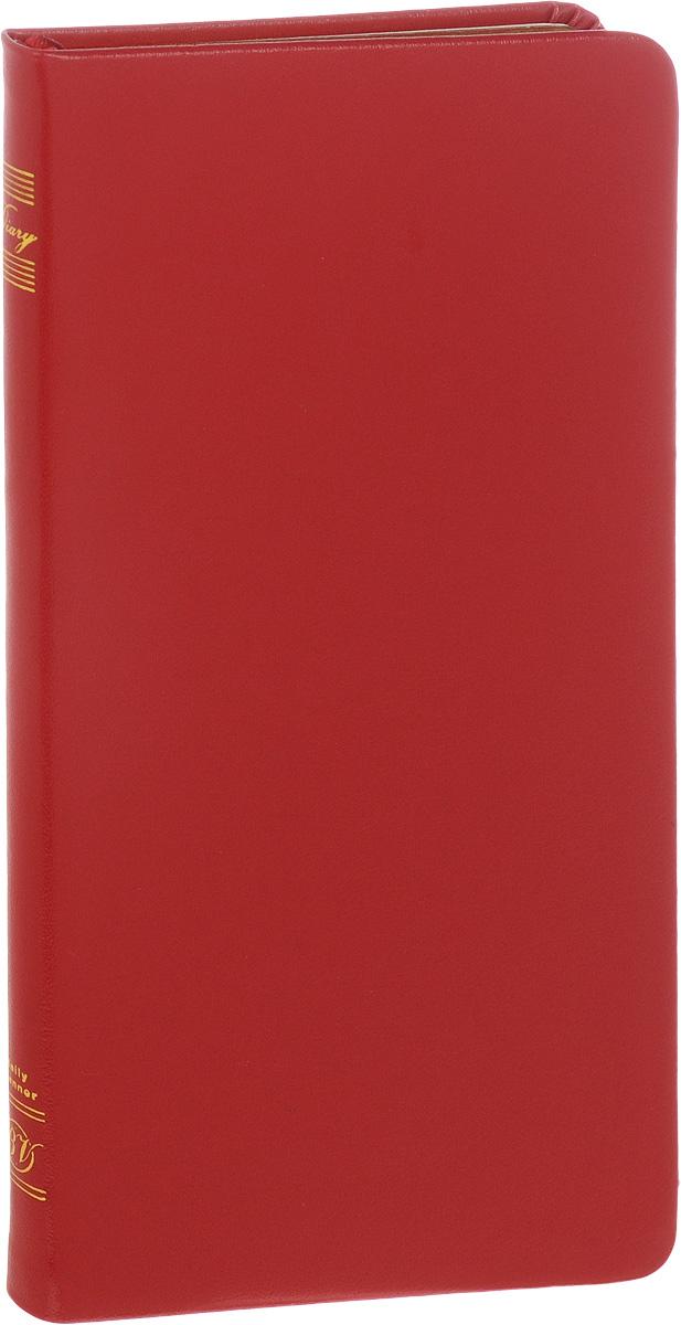 Bruno Visconti Еженедельник City недатированный 80 листов в линейку цвет красный