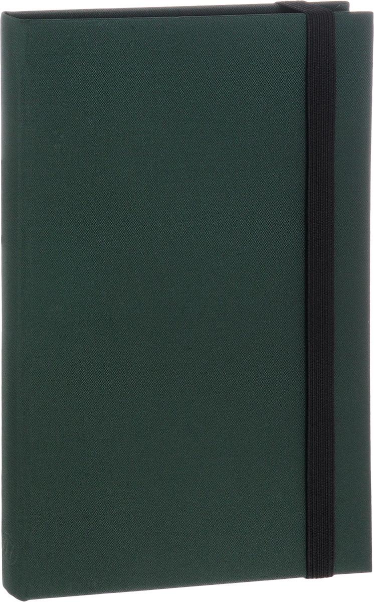 Bruno Visconti Еженедельник Tango полудатированный 160 листов в линейку формат В6 цвет зеленый