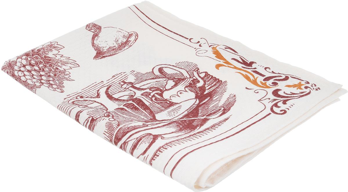 Полотенце Bonita Бордо. Боннет, цвет: слоновая кость, бордовый, коричневый, 44 х 59 см1010815854Кухонное полотенце Bonita Бордо. Боннет изготовлено из 100% хлопка, поэтому является экологически чистыми. Качество материала гарантирует безопасность не только взрослых, но и самых маленьких членов семьи. Изделие украшено оригинальным рисунком, оно впишется в интерьер любой кухни. Такое полотенце станет прекрасным помощником у вас на кухне.